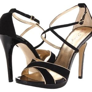 Lilly Pulitzer Bella Strappy Sandal Heels